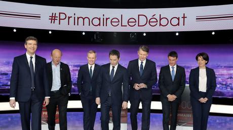 Primaire de la gauche : les sept candidats réunis pour un deuxième débat