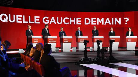 François Hollande était au théâtre lors du débat, qu'il a pourtant assuré vouloir regarder en différé chez lui