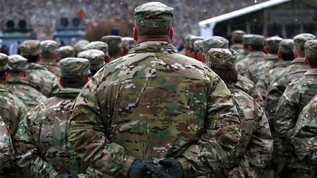 Les soldats américains en Pologne, 14 janvier 2017