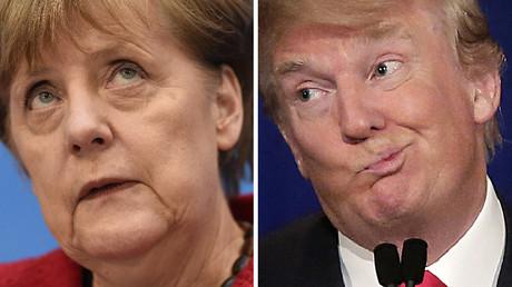 La chancelière allemande Angela Merkel a appelé l'UE à se montrer unie face à l'Amérique de Donald Trump