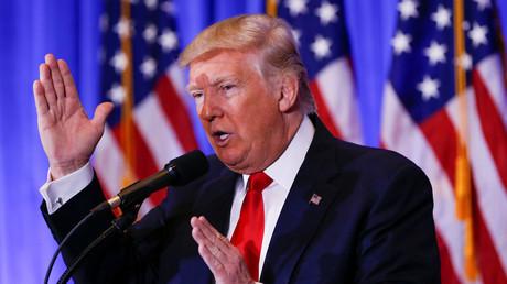 Donald Trump, président élu des Etats-Unis