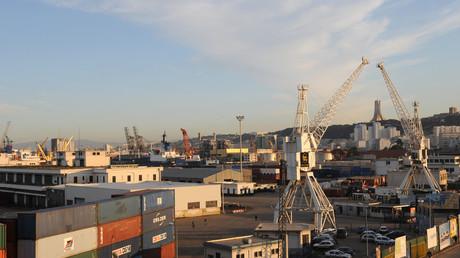 Une vue du port d'Alger (photographie d'illustration)