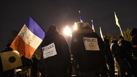 L'attaque de policiers à Viry-Châtillon avait donné lieu à un mouvement de contestation de