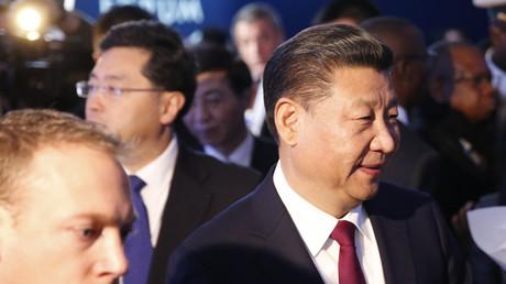 Le président chinois Xi Jinping à Davos