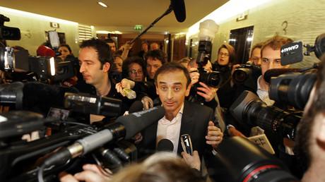 Eric Zemmour, durant l'un de ses procès