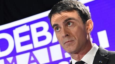 Manuel Valls lors du débat de la primaire de gauche