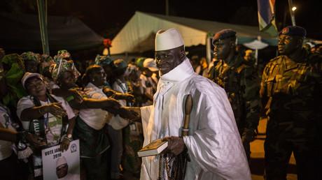 Le président gambien, Yahya Jammeh, le 24 novembre 2016