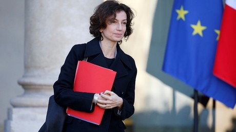 La ministre de la Culture et de la Communication Audrey Azoulay
