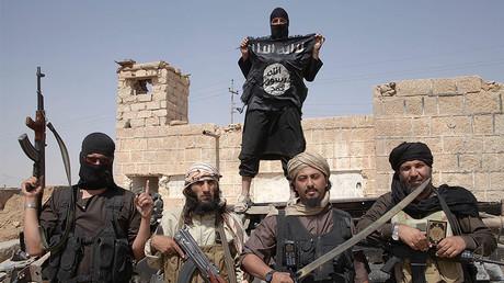 Des combattants de Daesh