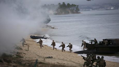 Les soldats de l'OTAN participent à des exercices militaires