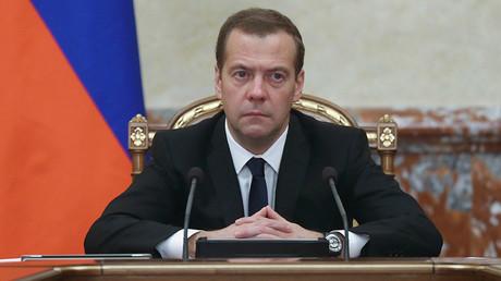 Premier ministre russe, Dmitri Medvedev