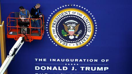 L'inauguration est en préparation à Washington