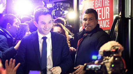 Benoît Hamon, grand vainqueur du premier tour de la primaire de la gauche.
