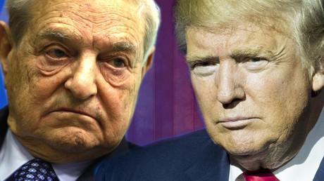George Soros vs Donald Trump