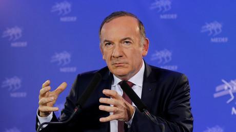 Le président du Medef, Pierre Gattaz