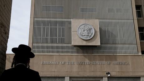 L'ambassade américaine à Tel-Aviv