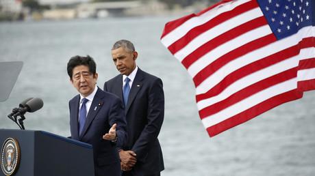 Shinzo Abe et Barack Obama à Pearl Harbour