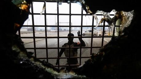 Un membre des services antiterroristes irakiens à Mossoul