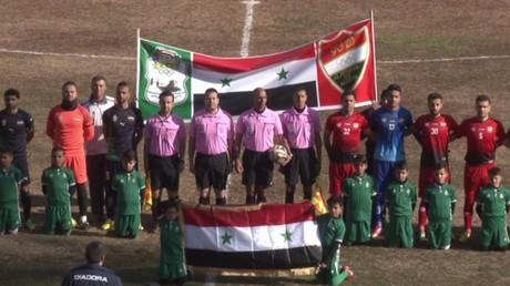 Pour la première fois en quatre ans, Alep a accueilli un match de football (VIDEO)