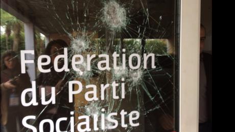 Ce n'est pas la première fois que le Parti socialiste voit ses locaux vandalisés dans l'Hérault