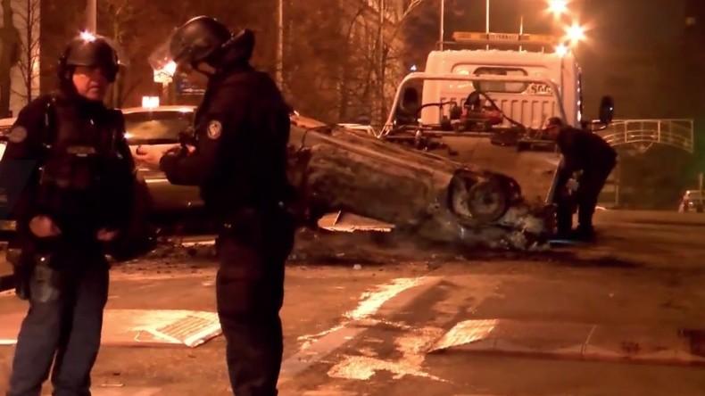 Nanterre : retour au calme après une nuit de violences (VIDEO)