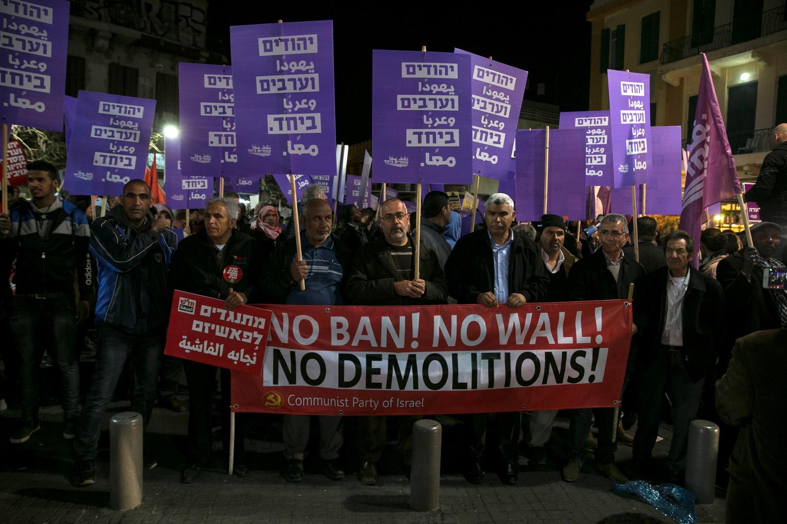 Tel-Aviv : des centaines de personnes manifestent contre le gouvernement de Netanyahou