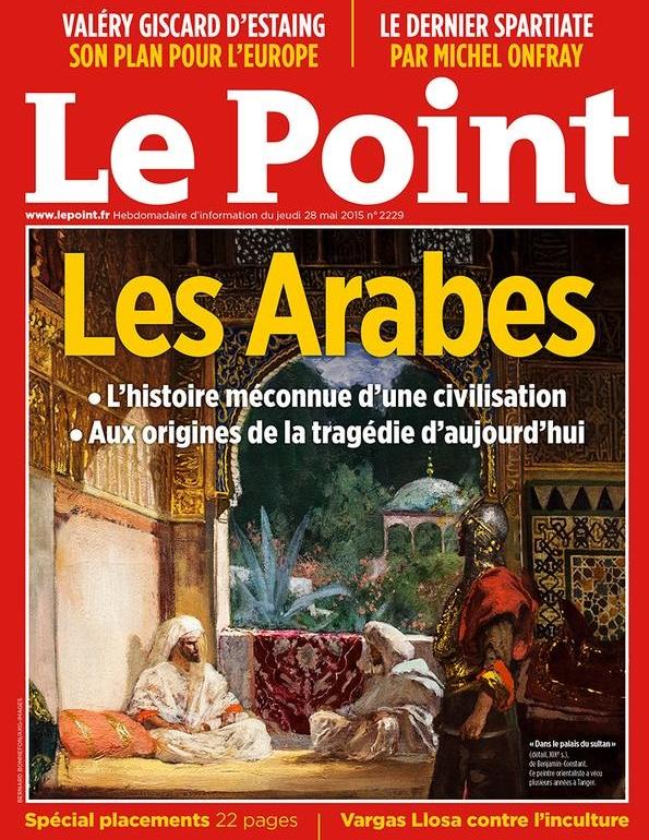«Les Arabes» : la Une à l'origine d'une bataille judiciaire entre Le Point et Arrêt sur images
