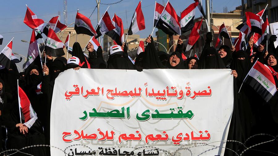 Bagdad : des heurts entre la police et des manifestants auraient fait deux morts et des blessés