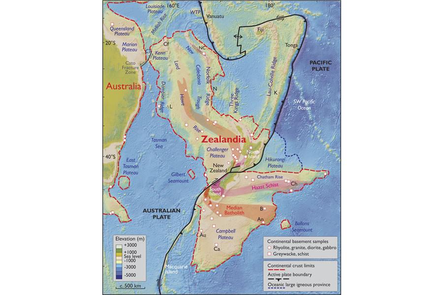 Zealandia : des géologues ont découvert un septième continent caché sous les eaux
