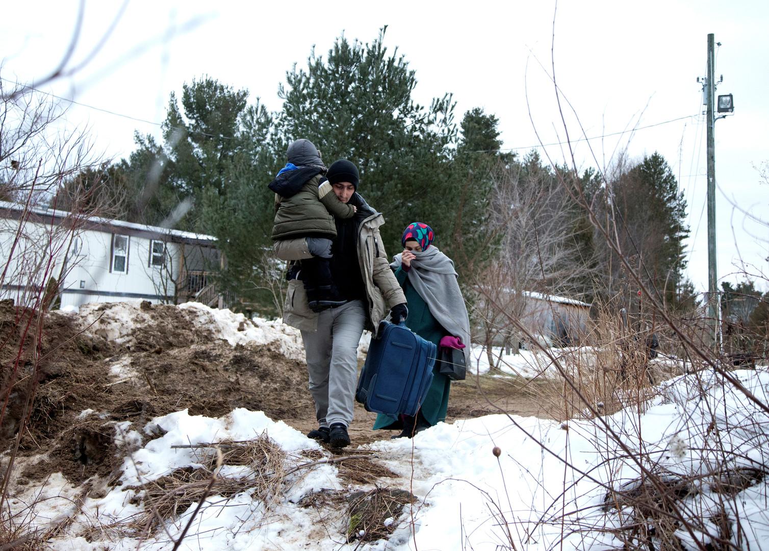 Justin Trudeau sous pression face au flux croissant de migrants venant des Etats-Unis