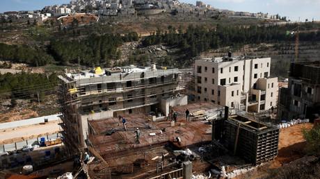 Des logements israéliens en Cisjordanie