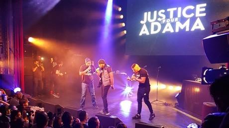 Le concert «Justice pour Adama»