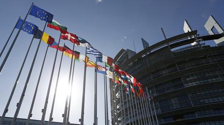Le bâtiment du Parlement européen