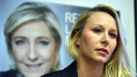 Marion Maréchal-Le Pen accuse la Défense de l'empêcher d'intégrer la réserve