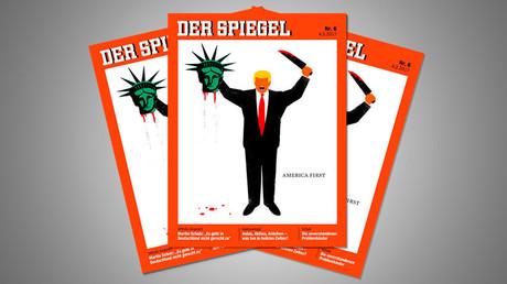 Donald Trump décapitant la Statue de la Liberté : la nouvelle Une du Spiegel fait encore polémique