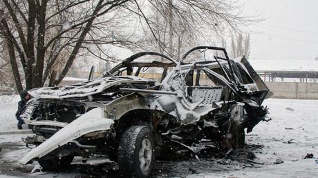 La voiture d'Oleg Anashchenko