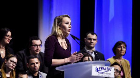 Marion Maréchal-Le Pen nie les désaccords avec Philippot et met en avant l'unité du FN (VIDEO)