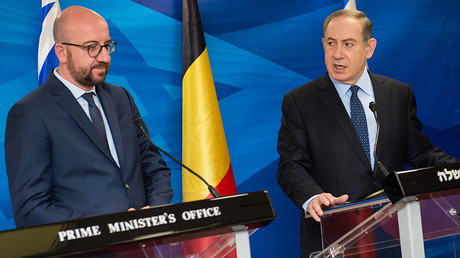 Charles Michel et Benjamin Netanyahou