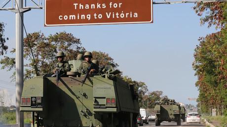 La situation est tellement préoccupante dans l'Etat d'Espirito Santo que le gouvernement a décidé d'envoyer l'armée pour rétablir la situation