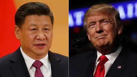 Le président chinois Xi Jinping, et son homologue américain, Donald Trump