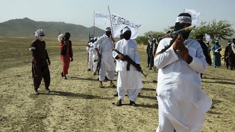 Les combattants du Taliban dans la province de Zâbol dans le sud de l'Afghanistan