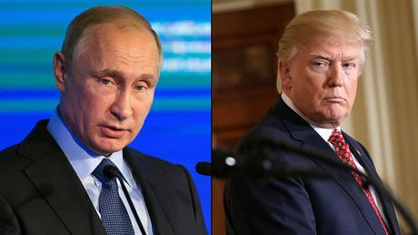 Vladimir Poutine/Donald Trump
