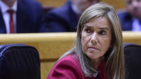 L'ex-membre du gouvernement espagnol Ana Mato, en octobre 2014