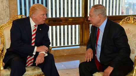 Donald Trump et Benjamin Netanyahou.