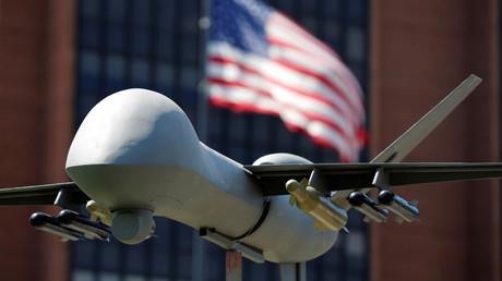 Un modèle de drone militaire américain