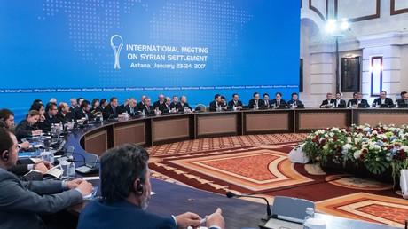 Premier tour des négociations de paix à Astana