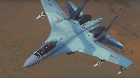Le chasseur Su-35C