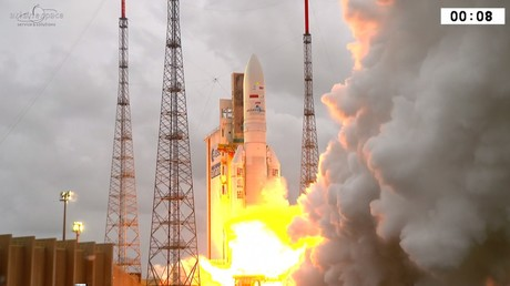 Le lancement d'Ariane 5, en Guyane