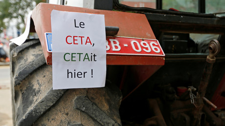 CETA ratifé : «Une porte ouverte pour les multinationales»