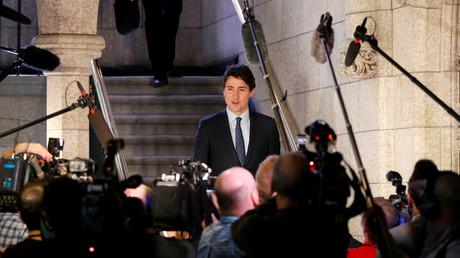 Justin Trudeau promeut l'accord de libre-échange devant le Parlement Européen